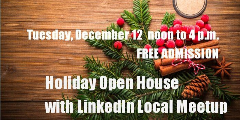 Holiday Open House with LinkedIn Local Meetup