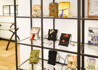 Recherche! Beautiful Purses Made from Japanese Obi Are Available at the Encorepreneur Cafe