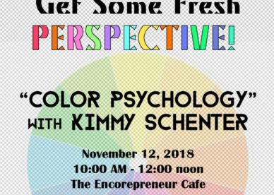 """""""Color Psychology"""" with Kimmy Schenter"""