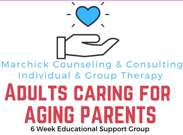 Adults Caring For Aging Parents 6 Week Educational Support Group