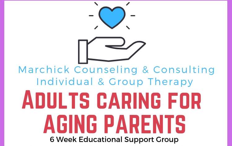 Adults Caring For Aging Parents Educational Support Group